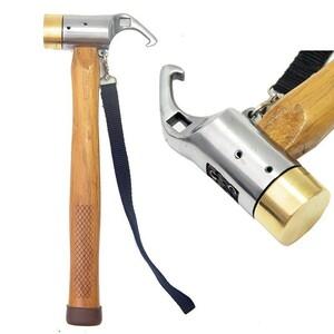 ペグハンマー ペグ 抜き 銅製ヘッド