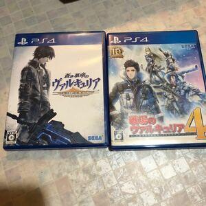 【PS4】 蒼き革命のヴァルキュリア 【PS4】 戦場のヴァルキュリア4 [通常版]2本セット