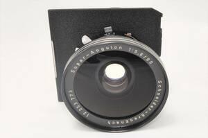 大判レンズ 現状品 シュナイダー・クロイツナッハ Schneider Kreuznach スーパーアンギュロン 90mm F5.6