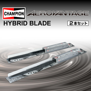 CHAMPION HYBRID ワイパーブレード ホンダ シビック LA-EP3 2001年12月~2005年9月 AHR60 AHR35 2本セット 新品