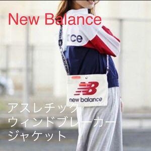 美品【New Balance/ニューバランス】アスレチックウィンドブレーカージャケット/ランニング ジム スポーツ トレーニング
