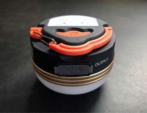アウトドア おまけ付 充電式LEDキャンプライト3W キャンピング・ランタン・テントランプ