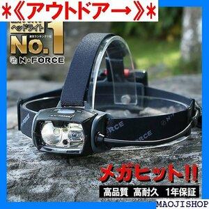 《アウトドア→》 ランキング1位 改良モデル ヘッドライト LED LE 作 REE 災害対策 懐中電灯 1000ルーメン 11
