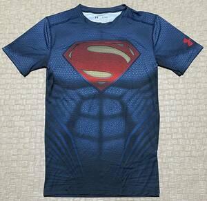 UNDER ARMOUR・アンダーアーマー スーパーマン コンプレッション 半袖 Tシャツ・XL サイズ・新品