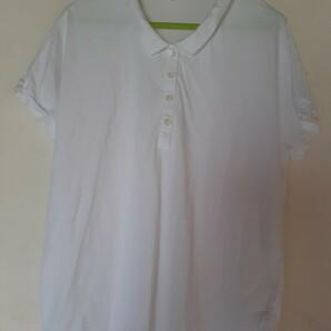 UNIQLO  白 ポロシャツ