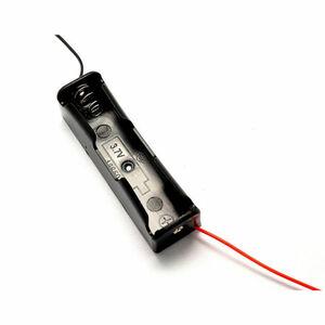 リード線付 1本用ケース リチウムイオン充電池 18650型
