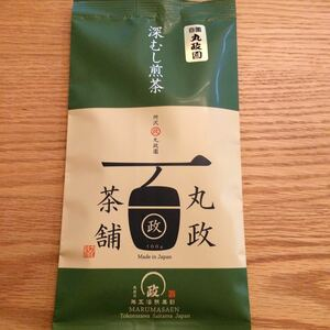 深蒸し煎茶 自園 丸政園 狭山茶