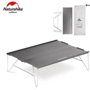 naturehike_ソロ_折り畳み_アルミテーブル_ネイチャーハイク アルミ製 ミニテーブル アウトドアテーブル 超軽量 ミニ