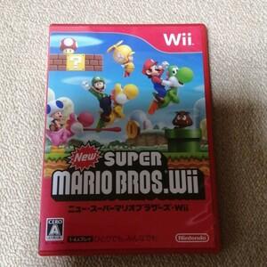 Wii ニュースーパーマリオブラザーズWii NewスーパーマリオブラザーズWii Wiiソフト ニュースーパーマリオブラザーズ