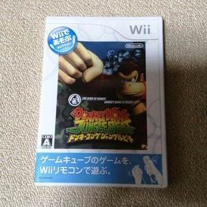 Wiiソフト ドンキーコングジャングルビート Wii