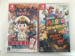 桃太郎電鉄 スーパーマリオ 3D ワールド Nintendo Switch ソフト 任天堂