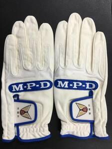 手袋 警視庁 MPDロゴ ウイングマーク 交通系 白 Lサイズ