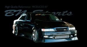 JZX100チェイサー タイプ2 F/S/Rバンパー3点セット BNスポーツ