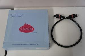 JORMA DESIGN ヨルマ デザイン AC LANDA 電源ケーブル 1.0m 元箱付き □XXB2-10480t