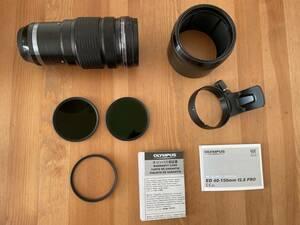 OLYMPUS M.ZUIKO DIGITAL ED40-150mm f2.8 PRO/NDフィルター2種・レンズガードおまけ/マイクロフォーサーズ/レンズ