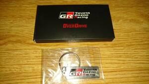トヨタGR オーバードライブ キーホルダー キーリング 未使用 新品 非売品 TOYOTA Gazoo Racing GRガレージ GRMN 送料無料 未使用