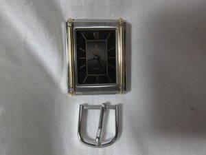 ★稼働品 CYMA/ シーマ 3針 クォーツ メンズ腕時計 57001 ベルト欠