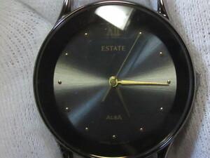 ★稼働品 SEIKO/セイコー ALBA  ESTATE 腕時計 V301-6B80 ベルト欠