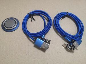 【2本セット】3in1 マグネット充電ケーブル