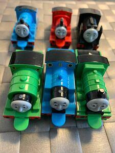 きかんしゃトーマス  パーシー プルバック 6台セット 機関車トーマス