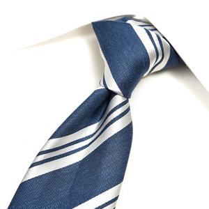 新着 新品 2.9万 エルメネジルドゼニア Ermenegildo Zegna ネクタイ メンズ シルク 100% レジメンタル ブルー ビジネス 355530