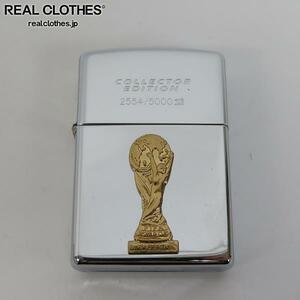 ZIPPO/ジッポー FRANCE WORLDCUP1998/フランスワールドカップ コレクターズエディション 木箱 5000個限定/1998年製 /000