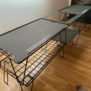 ユニフレームフィールドラック 天板 campgeeks オリーブドラブ テーブルセット アウトドアテーブル