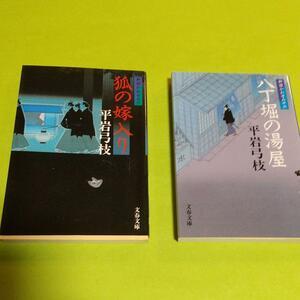 時代小説 平岩 弓枝(著)「御宿かわせみ 新装版」 2冊セット