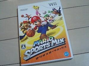 即決・送料無料・Wii・マリオスポーツミックス・