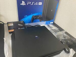 PlayStation 4 Pro SSD 500G 換装済