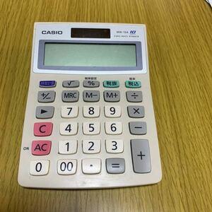 カシオ電卓 MW-10A 10桁表示