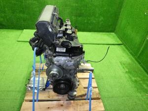タント L375S エンジン 19000-B2U01 H22/09 走行42,915キロ KF-VE テスト済み ハーネス&エキマニ欠品