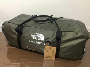 新品未使用 ノースフェイス EVACARGO4 エバカーゴ4 NV22104 テント 4人用 THE NORTH FACE 即日発送 EvaCargo4 キャンプ