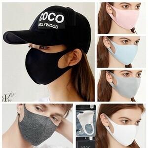 COOL MASK 水着メーカー開発 夏マスク 冷感マスク チャコール 大人サイズ