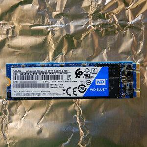 美品 SSD WD Blue NAND SATA 500GB 動作確認 中古