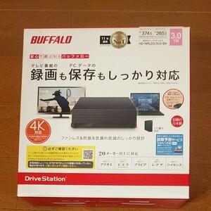 新品未開封品 バッファロー HD-NRLD3.0U3-BA BUFFALO 外付けハードディスク