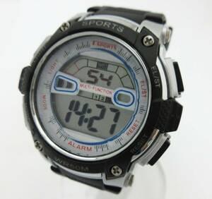 KS517【メンズ腕時計】T-SPORTS★TS-D155★デジタル腕時計 クォーツ腕時計★ファッション小物★中古★