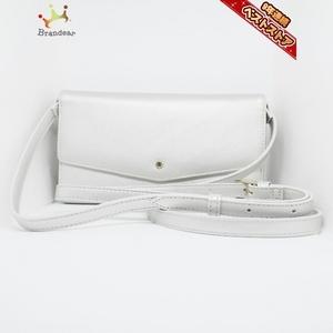 サマンサタバサプチチョイス Samantha Thavasa Petit Choice - 合皮 シルバー ショルダーウォレット 財布