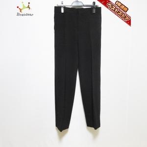 リュンヌ L'UNE パンツ サイズ38 M - 黒 レディース フルレングス 美品 ボトムス