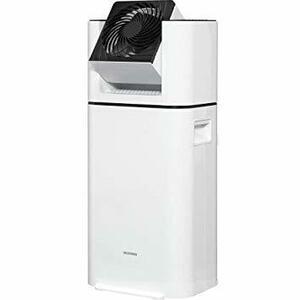 1)ホワイト アイリスオーヤマ 除湿機 サーキュレーター 衣類乾燥 強力除湿 除湿器 スピード乾燥 除湿量 5L 湿度センサー