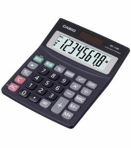カシオ Casio 電卓 MS-7LBK-N オフィス用品 事務用品 計算 試験