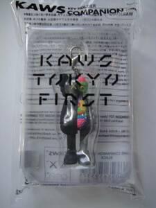 ■KAWS TOKYO FIRST■ カウズ キーホルダー KAWS COMPANION (FLAYED) BLACK KEYHOLDER