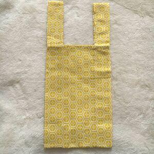 エコバッグ ハンドメイド コンビニバッグ レジ袋型 和柄 手ぬぐい 手拭い エコバック