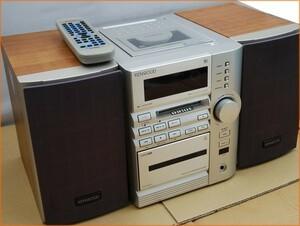 ☆綺麗【ケンウッド / KENWOOD CDミニコンポ コンパクトディスクlステレオシステム RXD-SE5MD 】リモコン付 L09518