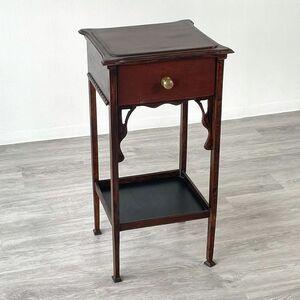 アンティーク 家具 ランプテーブル 1930年頃 マホガニー材 イギリス 英国 サイドテーブル ビンテージ家具/ 輸入家具 店舗什器 839A