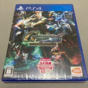 【PS4】 SDガンダム ジージェネレーション クロスレイズ [プレミアムGサウンドエディション] 新品未開封