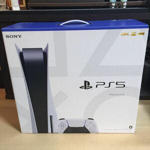 送料無料 新品未使用 PlayStation5 PS5 プレイステーション5 ディスクドライブ搭載モデル CFI-1100A01