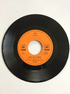 EPレコード SANTANA A面-BLACK MAGIC WOMAN B面-HOPE YOU'RE FEELING BETTER