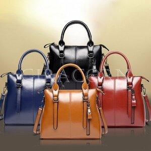 新品ハンドバッグ 2way ショルダーバッグ レディースビジネスハンドバッグ 女性用欧米風トートバッグ レディースレザーバッグ