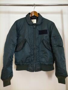 90s USA製 SPIEWAK スピワック CPW-45 ナイロン フライトジャケット S ネイビー ★ミリタリーUS古着
